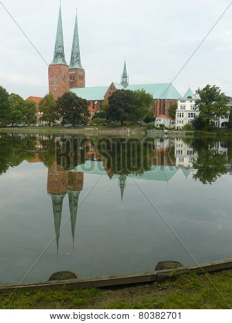 Lutheran cathedral in Lübeck