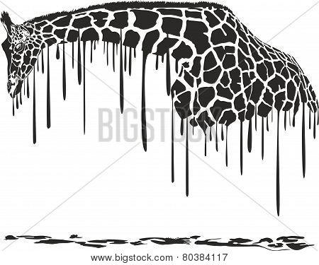 Giraffe Painting.eps