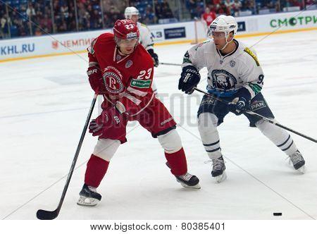 D. Shitikov (23) Vs St. Pierre Martin (93)