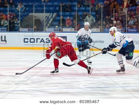 Maxim Afinogenov (61) In Action