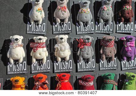 Handmade Bears - Souvenirs From Latvia