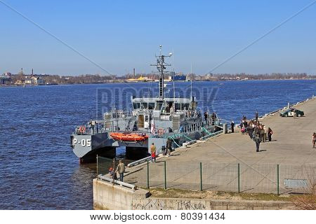 Latvian Patrol Ship