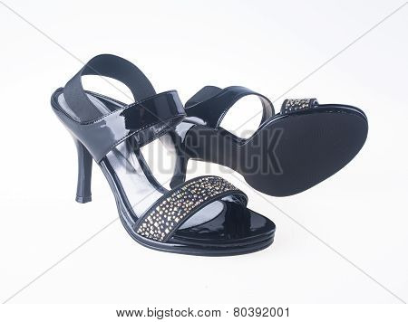 Shoes. Woman Shoes Isolated. Shoes. Woman Shoes Isolated.