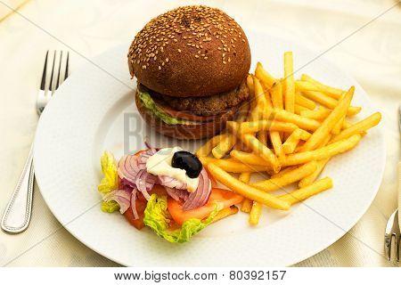 Burger.