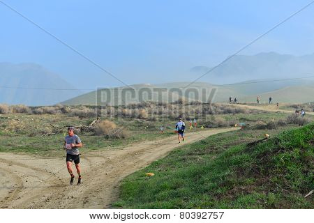 Running a Dirt Path