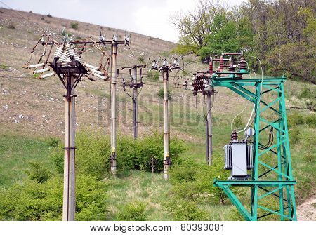 electricity distribution and transformers