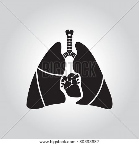 Heart & Lung Symbol