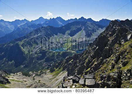 Polish High Tatras Mountains.