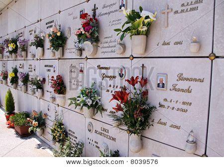 An Italian graveyard