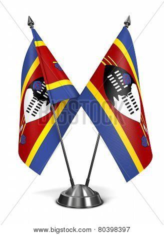 Swaziland - Miniature Flags.