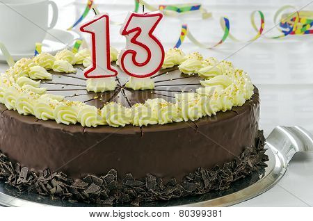 Creamy Chocolate Birthday Cake