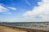 picture of azov  - Coast of Taganrog Bay of the Sea of Azov - JPG