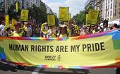 Amnesty International At Paris Gay Pride 2010