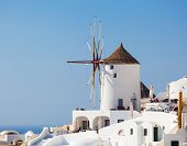 foto of west village  - Windmill in Oia Santorini - JPG