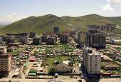 picture of ulaanbaatar  - New construction of buildings in the capital city Ulaanbaatar - JPG