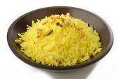picture of rice  - pilau rice  - JPG