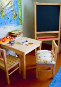 picture of nursery school child  - Schoolboard - JPG