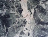foto of porphyry  - black white gray blue flamed marble sheet slab - JPG