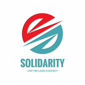 stock photo of logo  - Solidarity  - JPG