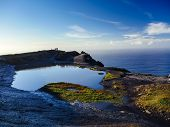 stock photo of cliffs moher  - Cliffs of Moher in County Clare Ireland - JPG