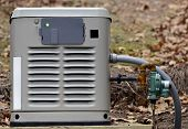 pic of generator  - A home backup generator for use during power outages - JPG