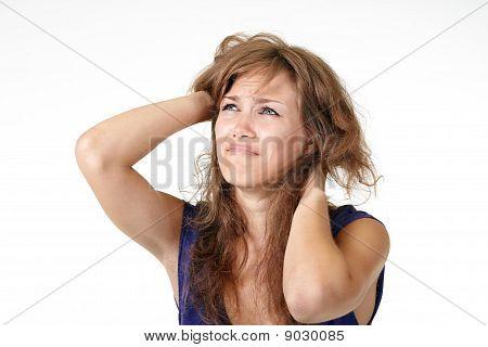 Beautiful Girl Crying