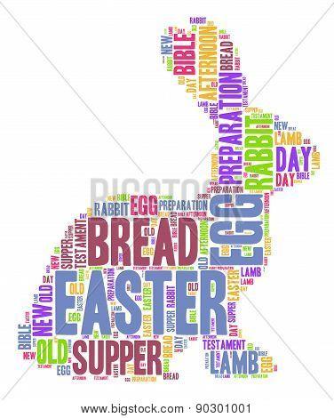 Easter Rabbit - Word Cloud