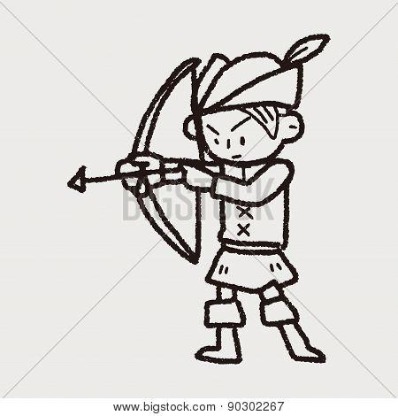 Archer Doodle