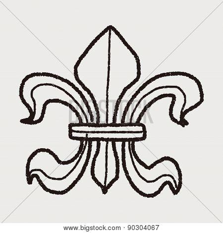 Royal Crest Doodle