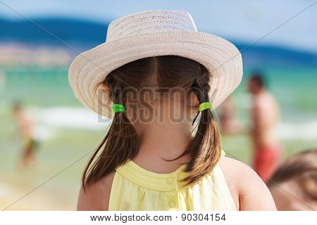 Child In A White Hat