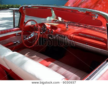Classic Car 1960 Chevy Convertible PS