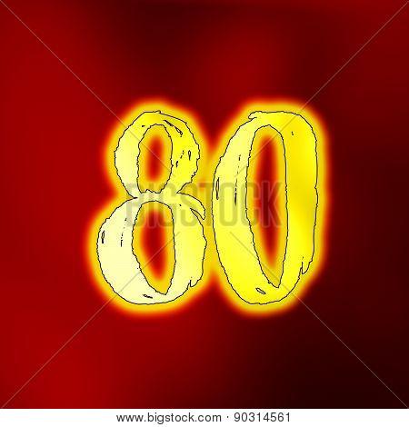 Number 80