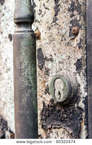 Old Key Lock