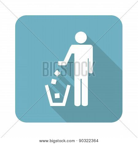 Square recycling icon