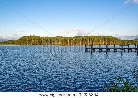 Fishing Camp At Sundown