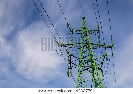 High Voltage Power Line Stand