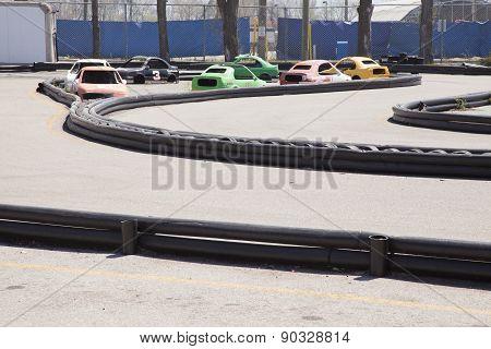 Abandoned Go Kart Track