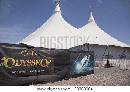 odysseo by cavalia theatre