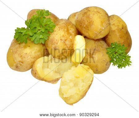 Boiled New Potatoes