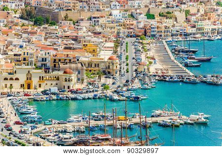 Port of Pothia, Kalymnos, Greece