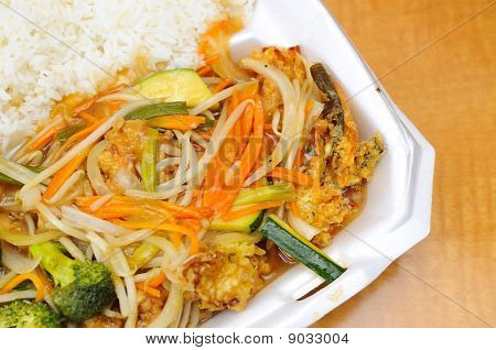 Simple Mixed Vegetable Meal