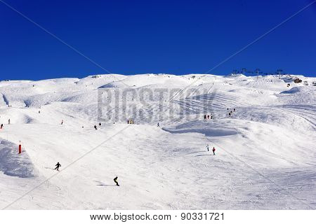 Ski wherever you want - Wide ski slope area