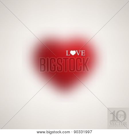 eps10 vector valentines day heart love symbol icon business background