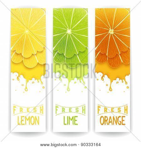 Citrus fresh juice