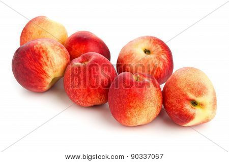 Whole White Nectarines
