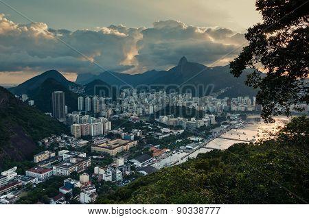 Rio de Janeiro from Urca Mountain