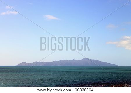 Kapiti Island, Wellington, New Zealand.