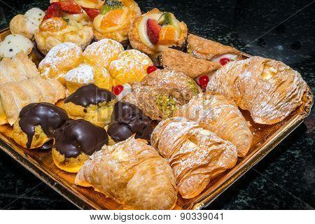 Pastries Dish