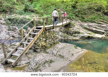 Caucasus. Sochi. River Agura