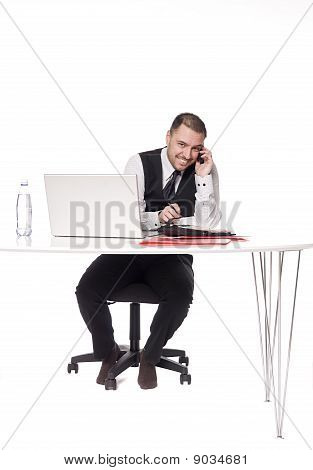 Man in an office